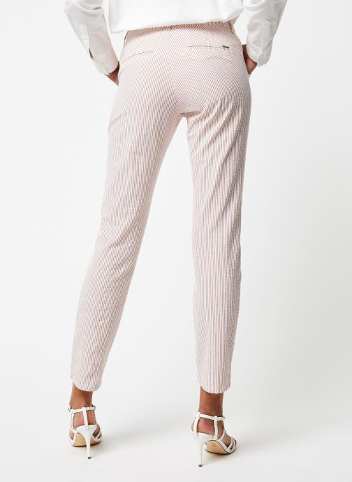 Kleding Kanopé Pantalon Dahlia Rayure Rood model