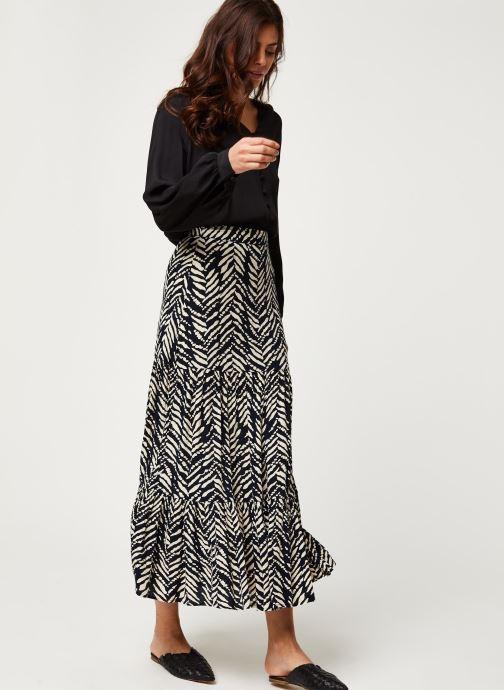 Vêtements Stella Forest JUPE FENDUE MALI Noir vue bas / vue portée sac