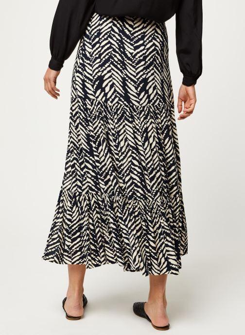 Vêtements Stella Forest JUPE FENDUE MALI Noir vue portées chaussures