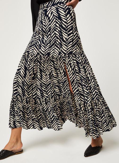 Vêtements Stella Forest JUPE FENDUE MALI Noir vue détail/paire