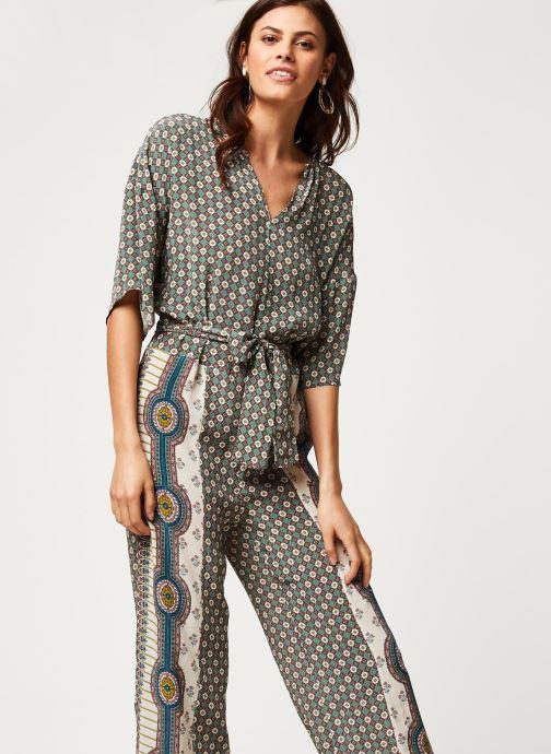 Vêtements Stella Forest COMBI-PANTALON JAVA Blanc vue détail/paire