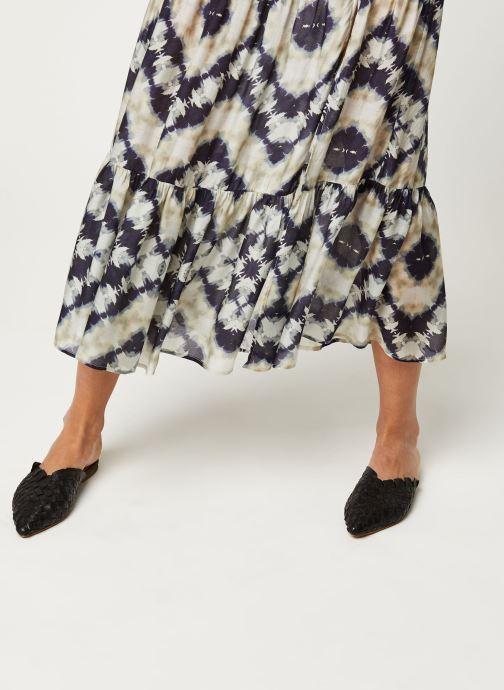 Vêtements Stella Forest JUPE FENDUE JANIS Bleu vue face