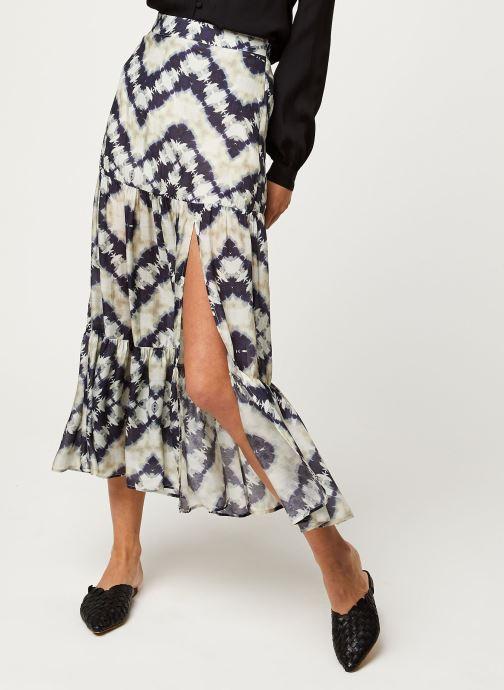 Vêtements Stella Forest JUPE FENDUE JANIS Bleu vue détail/paire
