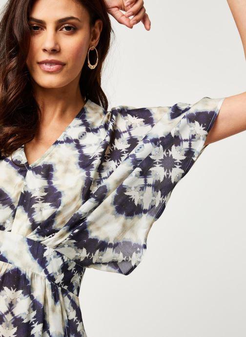 Vêtements Stella Forest ROBE LONGUE JANIS Bleu vue face