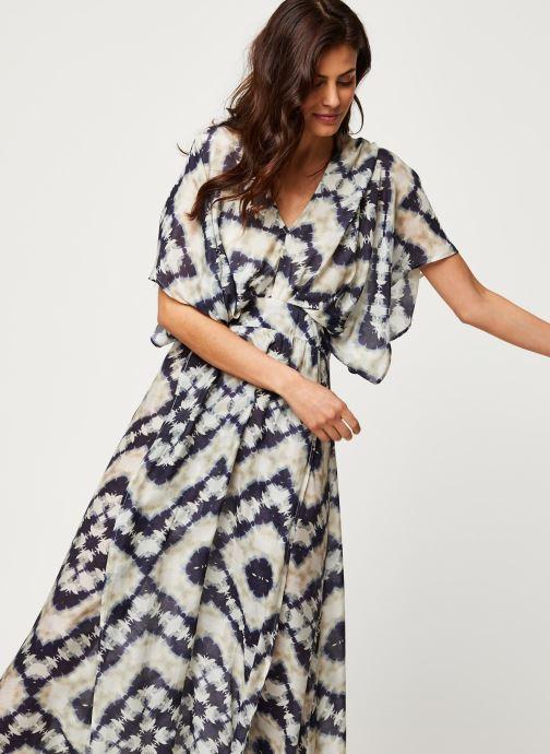 Vêtements Stella Forest ROBE LONGUE JANIS Bleu vue droite