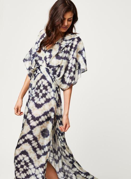 Vêtements Stella Forest ROBE LONGUE JANIS Bleu vue détail/paire