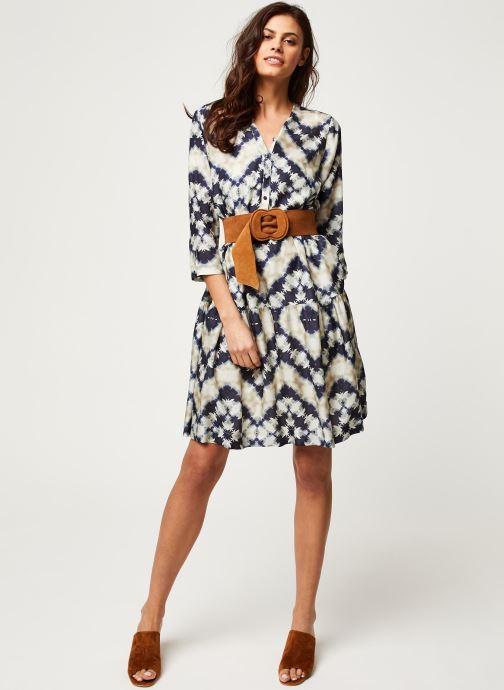 Vêtements Stella Forest ROBE COURTE JANIS Bleu vue bas / vue portée sac