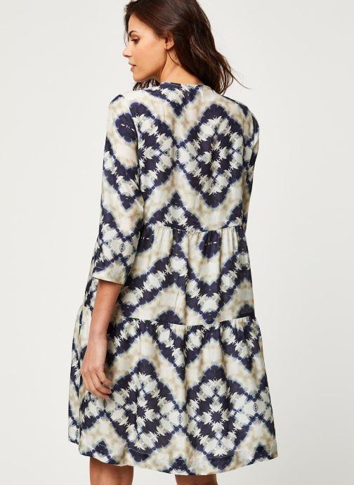 Vêtements Stella Forest ROBE COURTE JANIS Bleu vue portées chaussures