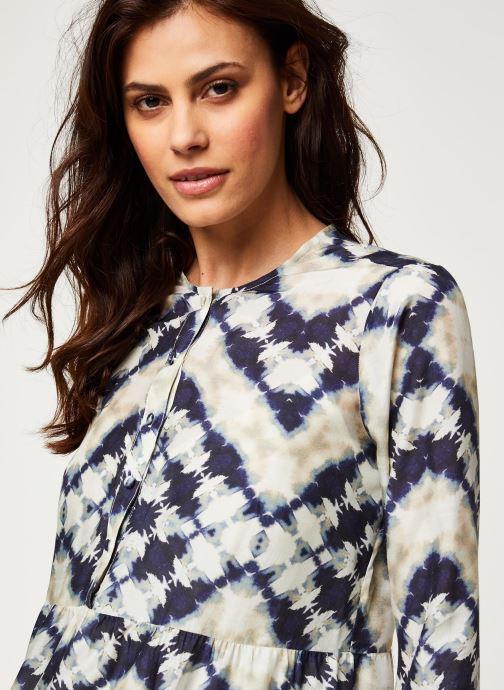 Vêtements Stella Forest ROBE COURTE JANIS Bleu vue face