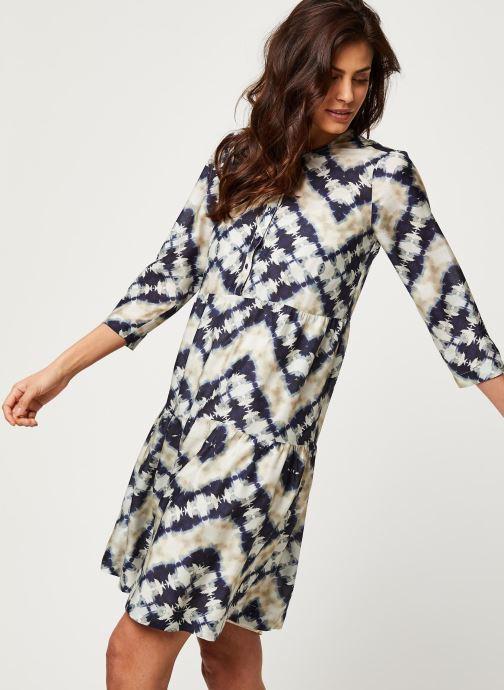 Vêtements Stella Forest ROBE COURTE JANIS Bleu vue droite
