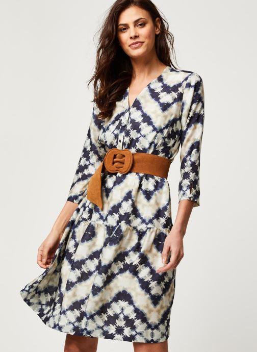 Vêtements Stella Forest ROBE COURTE JANIS Bleu vue détail/paire