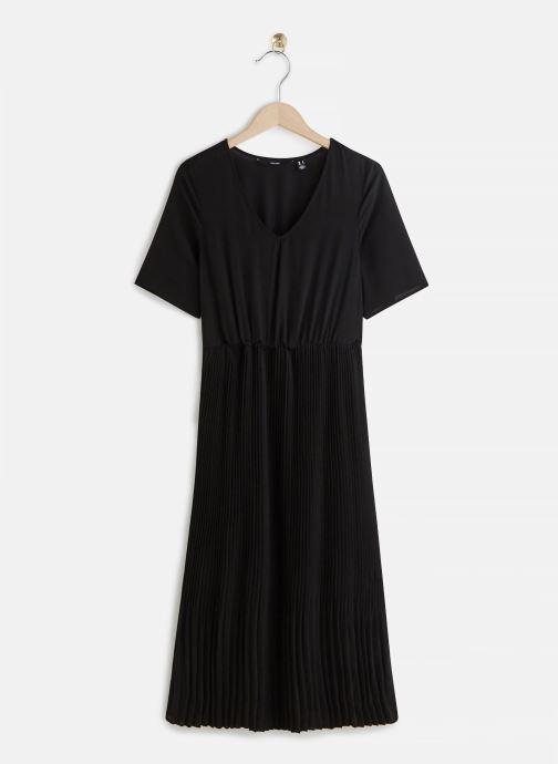 Kleding Vero Moda Robe Vmmalou Zwart detail