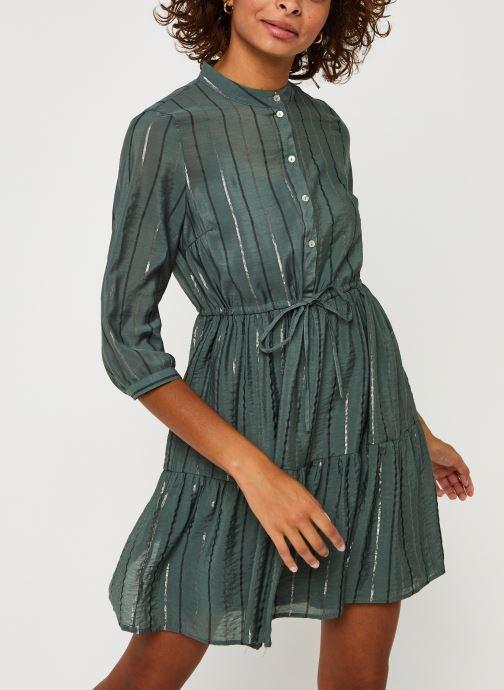 Vêtements Vero Moda Robe Vmovida Vert vue droite