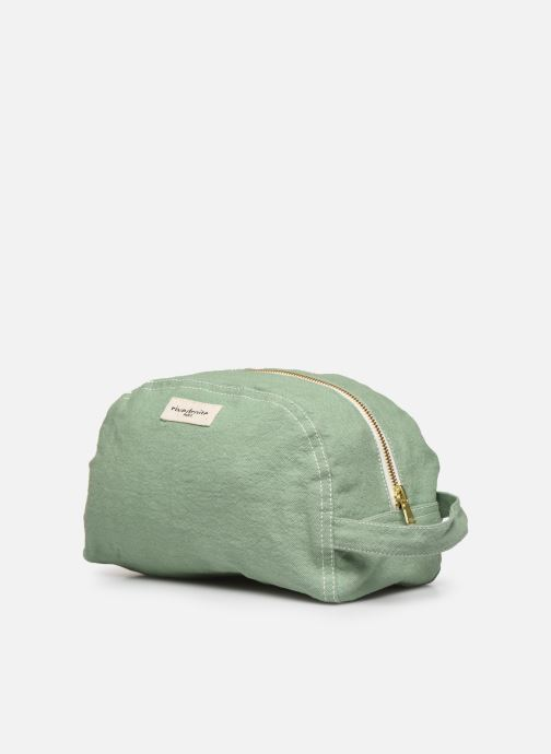 Bagages RIVE DROITE PARIS HERMEL TOILETRY BAG Vert vue portées chaussures