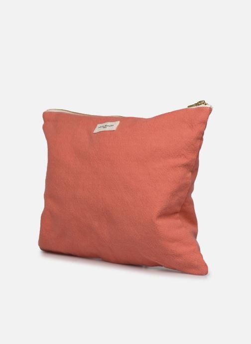 Portemonnaies & Clutches RIVE DROITE PARIS BARBETTE COOL POUCH rosa schuhe getragen