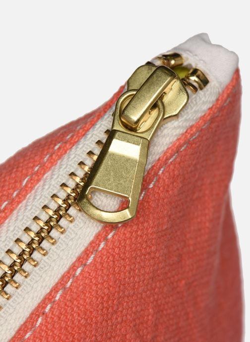 Portemonnaies & Clutches RIVE DROITE PARIS BARBETTE COOL POUCH rosa ansicht von links