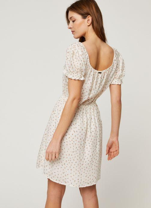 Vêtements Billabong Robe Fall For Love Blanc vue portées chaussures