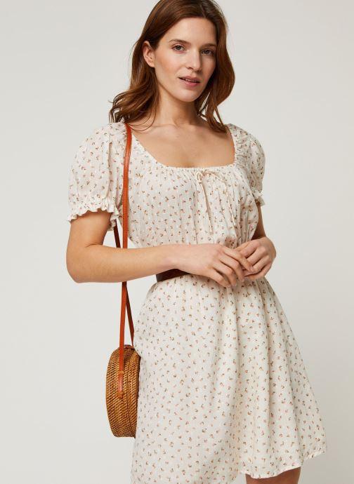 Vêtements Billabong Robe Fall For Love Blanc vue détail/paire