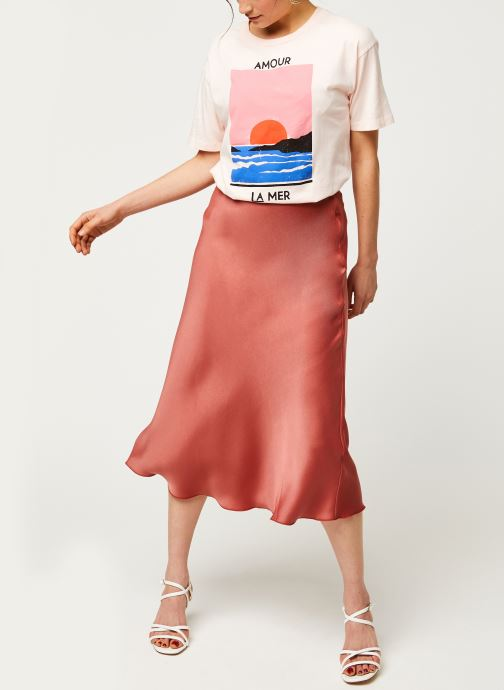 Vêtements Billabong T-Shirt Amour La Mer Rose vue bas / vue portée sac