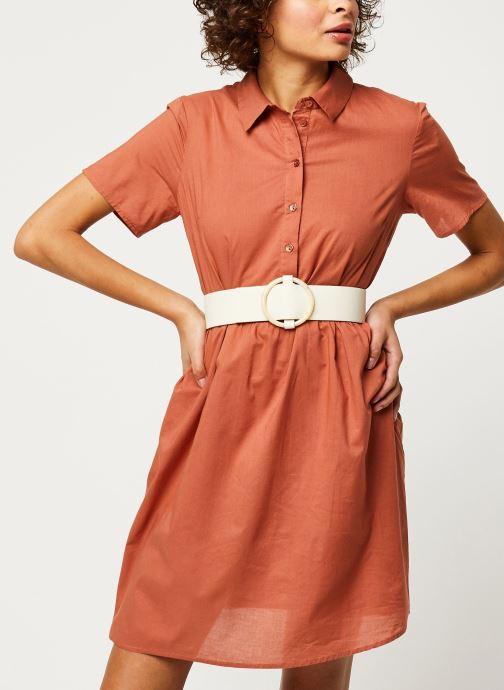 Vêtements Pieces Dresses PCANEA Marron vue détail/paire