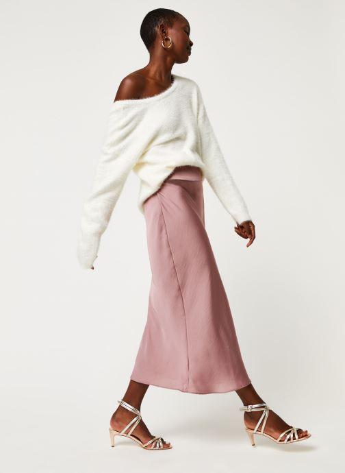 Vêtements Pieces Pullover PCHILJA Blanc vue bas / vue portée sac