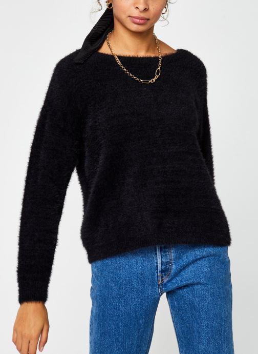 Vêtements Pieces Pullover PCHILJA Noir vue droite