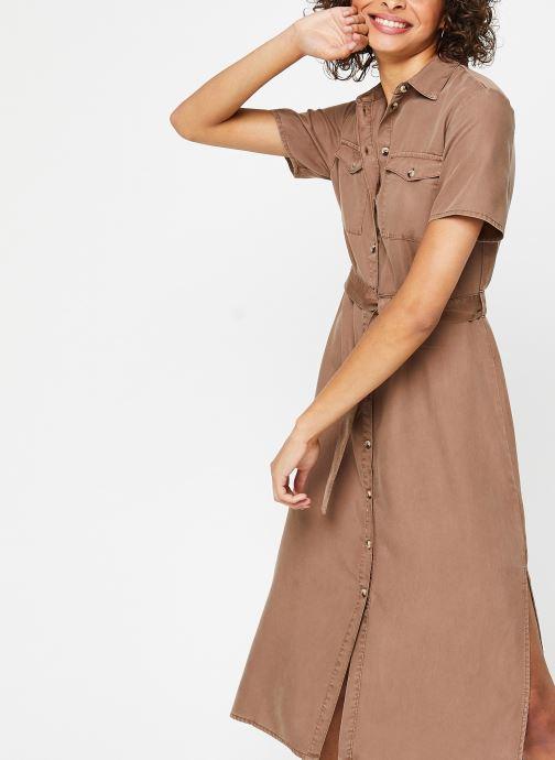 Vêtements Pieces Dresses PCNOLA Marron vue détail/paire