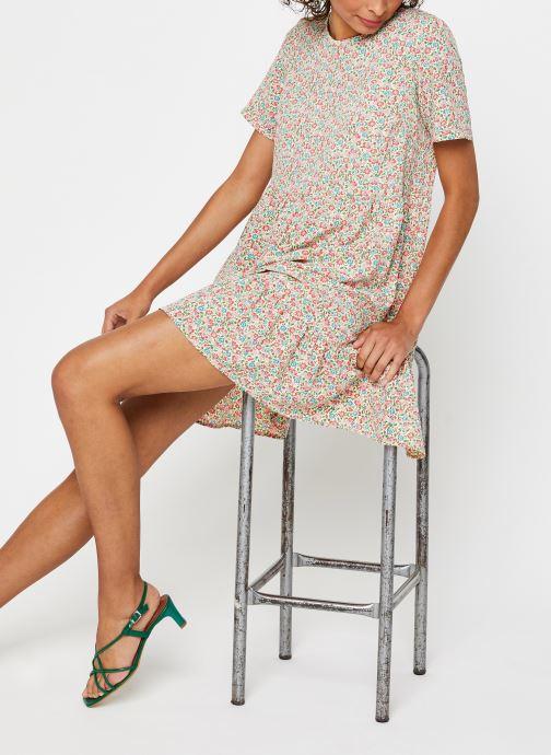 Vêtements Pieces Dresses PCMAGGIE Blanc vue bas / vue portée sac