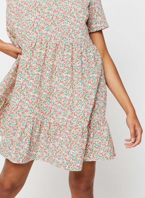 Vêtements Pieces Dresses PCMAGGIE Blanc vue face