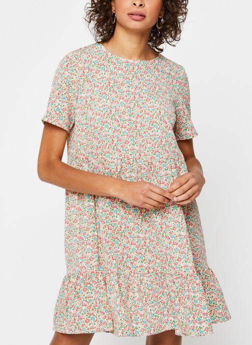 Vêtements Pieces Dresses PCMAGGIE Blanc vue droite