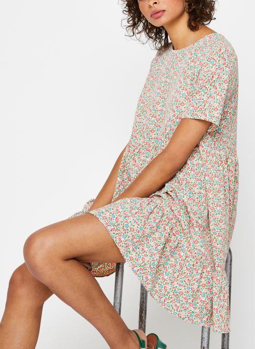 Vêtements Pieces Dresses PCMAGGIE Blanc vue détail/paire