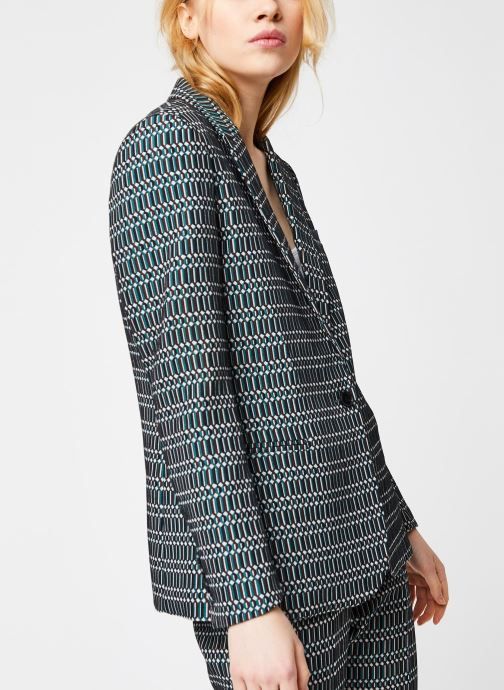 Vêtements MKT Studio Jacket Valuse Vert vue droite