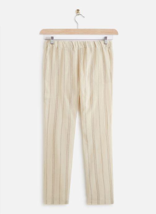 Vêtements MKT Studio Pants Poloka Beige vue bas / vue portée sac