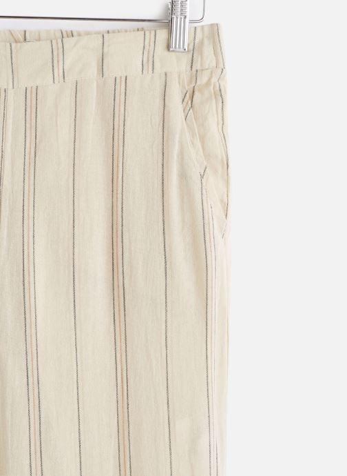 Vêtements MKT Studio Pants Poloka Beige vue portées chaussures