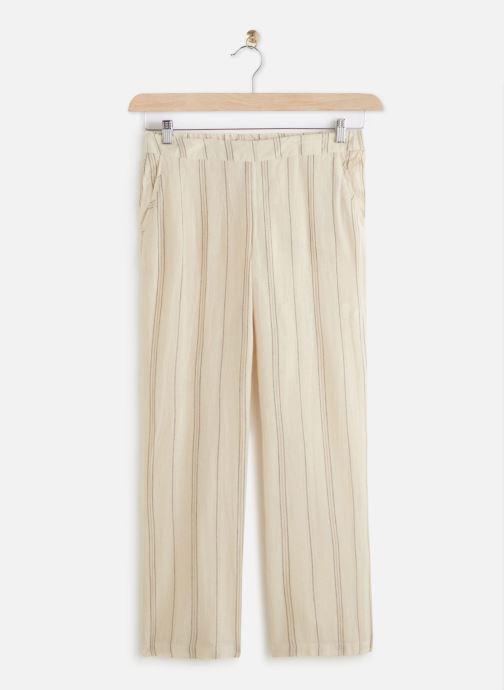 Vêtements MKT Studio Pants Poloka Beige vue détail/paire