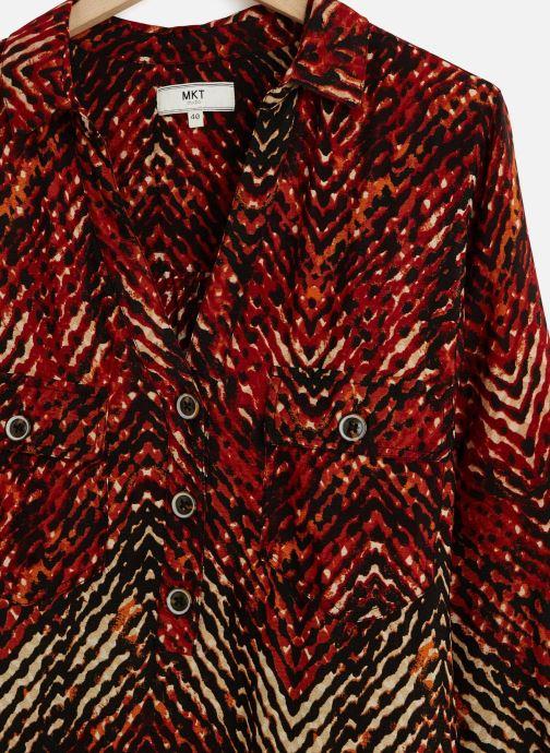 Vêtements MKT Studio Dress Ramlo Multicolore vue portées chaussures
