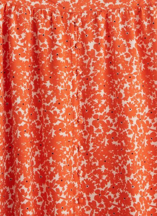 Vêtements MKT Studio Skirt Japoni Orange vue portées chaussures