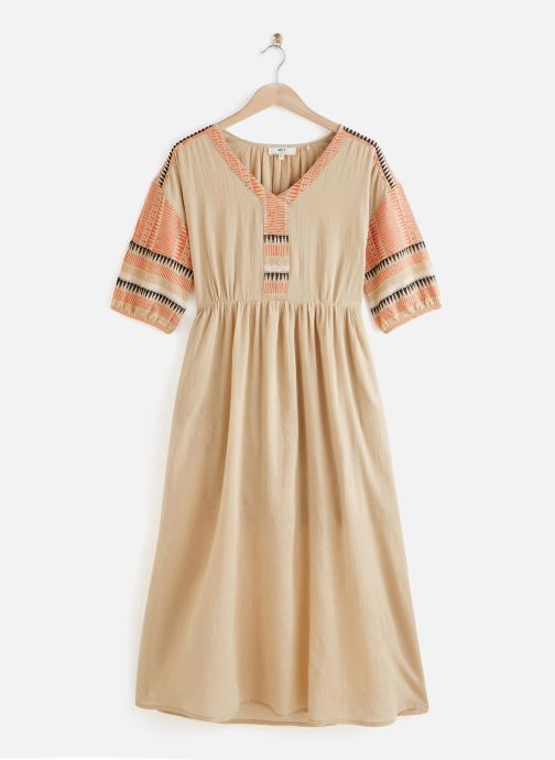Vêtements MKT Studio Dress Roki Beige vue détail/paire
