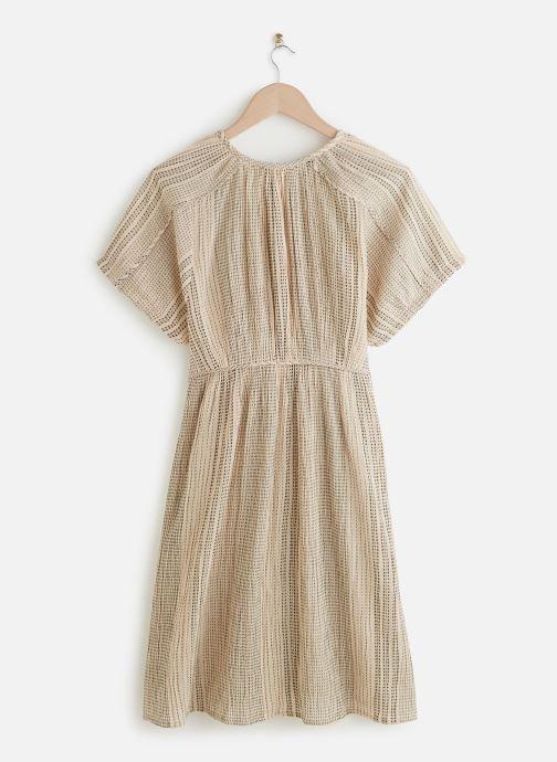 Vêtements MKT Studio Dress Rinina Beige vue bas / vue portée sac