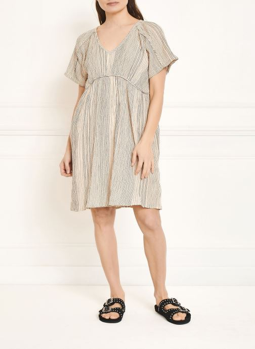 Vêtements MKT Studio Dress Rinina Beige vue face