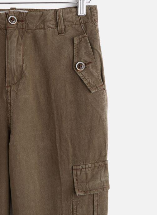 Vêtements MKT Studio Pants Patya Vert vue portées chaussures
