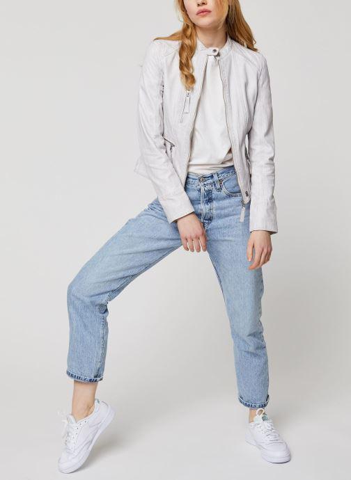 Vêtements Oakwood EACH Blanc vue bas / vue portée sac