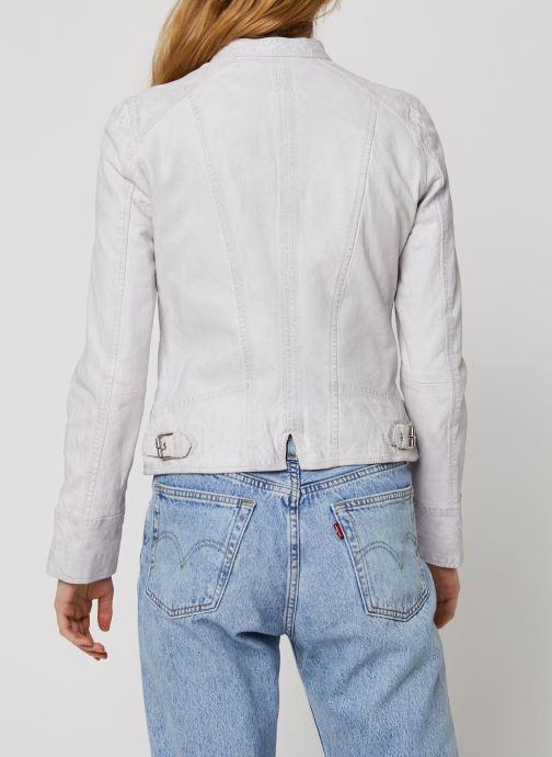 Vêtements Oakwood EACH Blanc vue portées chaussures