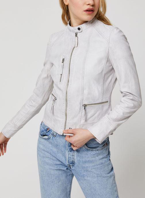 Vêtements Oakwood EACH Blanc vue droite