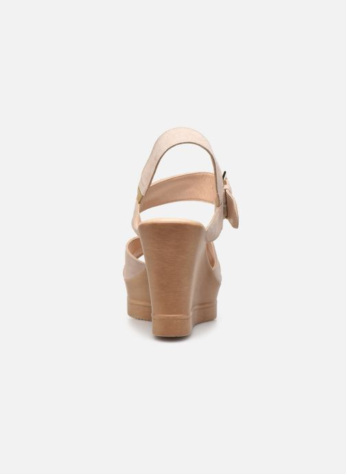 Sandali e scarpe aperte Bluegenex B-2118 Beige immagine destra
