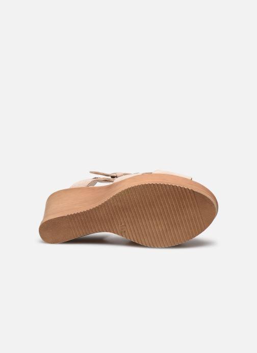 Sandali e scarpe aperte Bluegenex B-2118 Beige immagine dall'alto