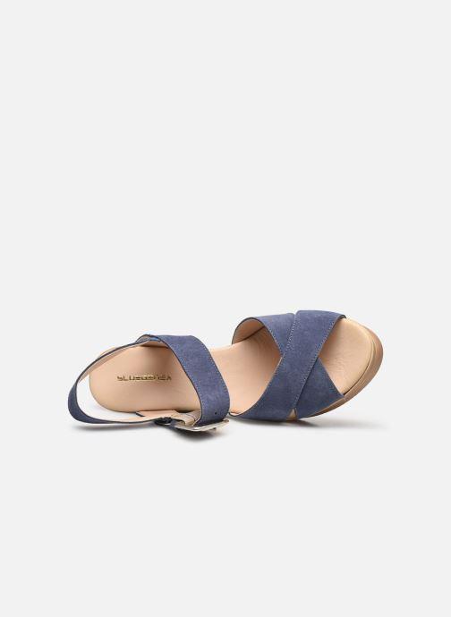 Bluegenex B-2118 (Bleu) - Sandales et nu-pieds chez  (439699)
