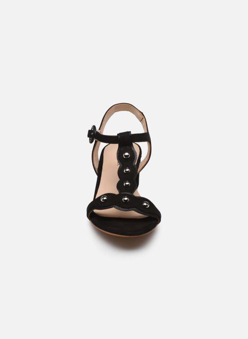 Sandalen Bluegenex B-2300 1.011 schwarz schuhe getragen