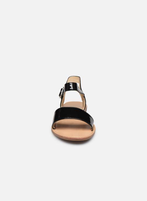 Sandali e scarpe aperte I Love Shoes Thafeet Nero modello indossato