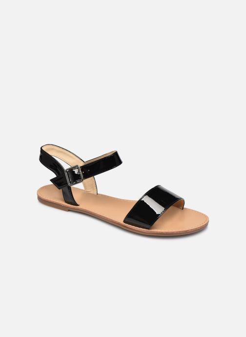 Sandaler I Love Shoes Thafeet Sort detaljeret billede af skoene